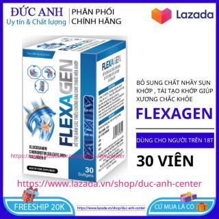 Glucosamin 1500mg giảm đau xương khớp bổ sung chất nhầy sụn khớp hộp 30 viên - HSD 2023 - đức anh center thumbnail