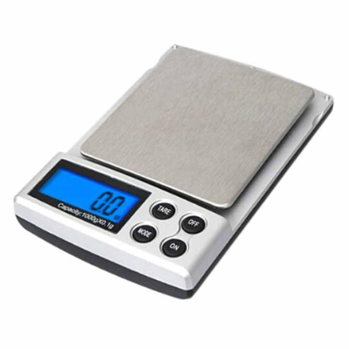0.1g / 1kg LCD Digital Pocket Weight Scale Jewelry Diamond Balance Scale