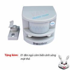 Hình ảnh 01 Bộ cảm biến hồng ngoại chống trộm lập HT1A + Tặng 01 đèn ngủ tự động mặt thỏ