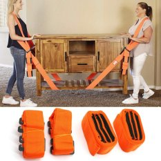 Hình ảnh 1 Pair Lifting And Moving Straps Easily Carry Furniture Magic Hand Strap Shoulder Strap - intl