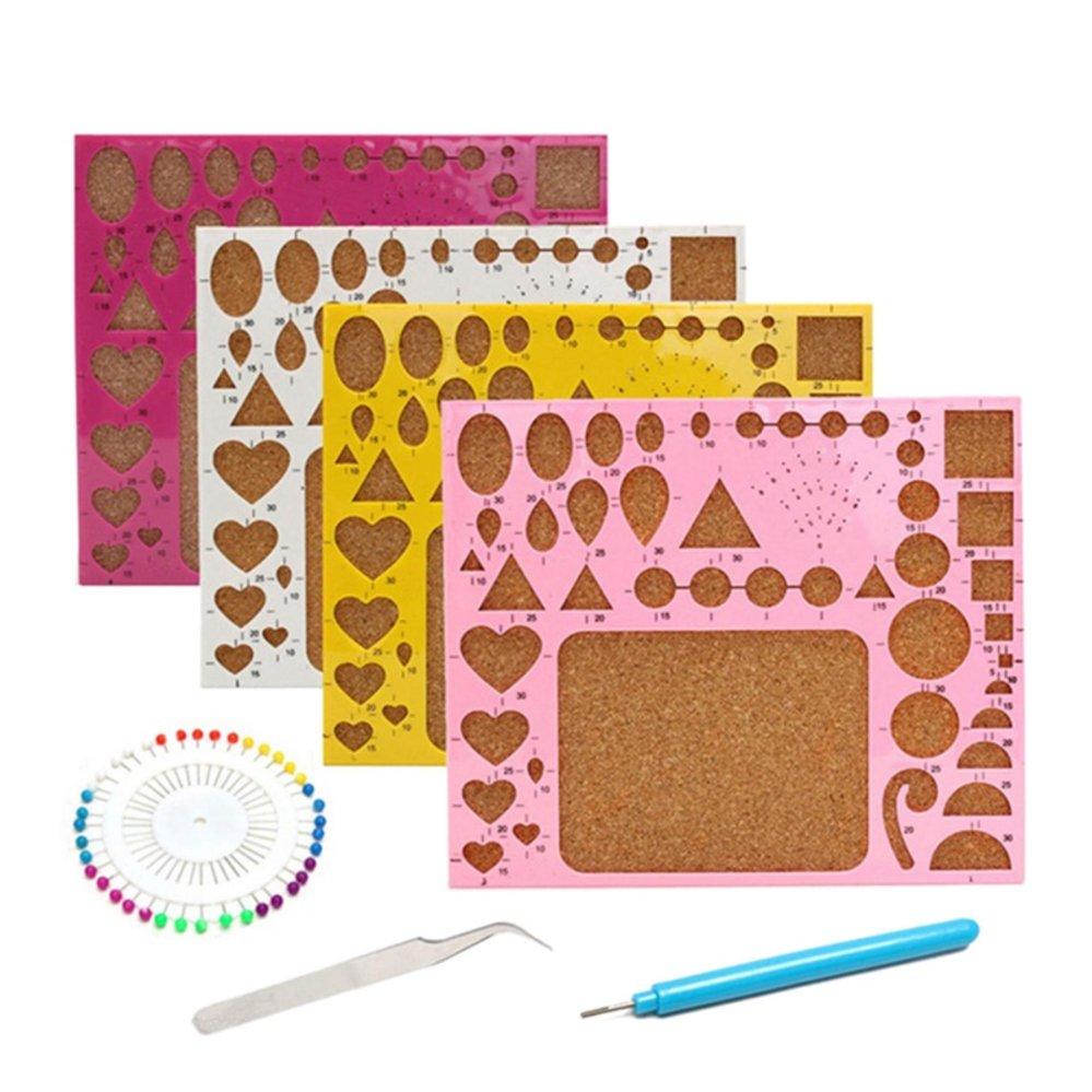 1 Set Paper Quilling Tool Kit DIY Hamdmade Art Work Accessory Papercraft Tool - intl - 1