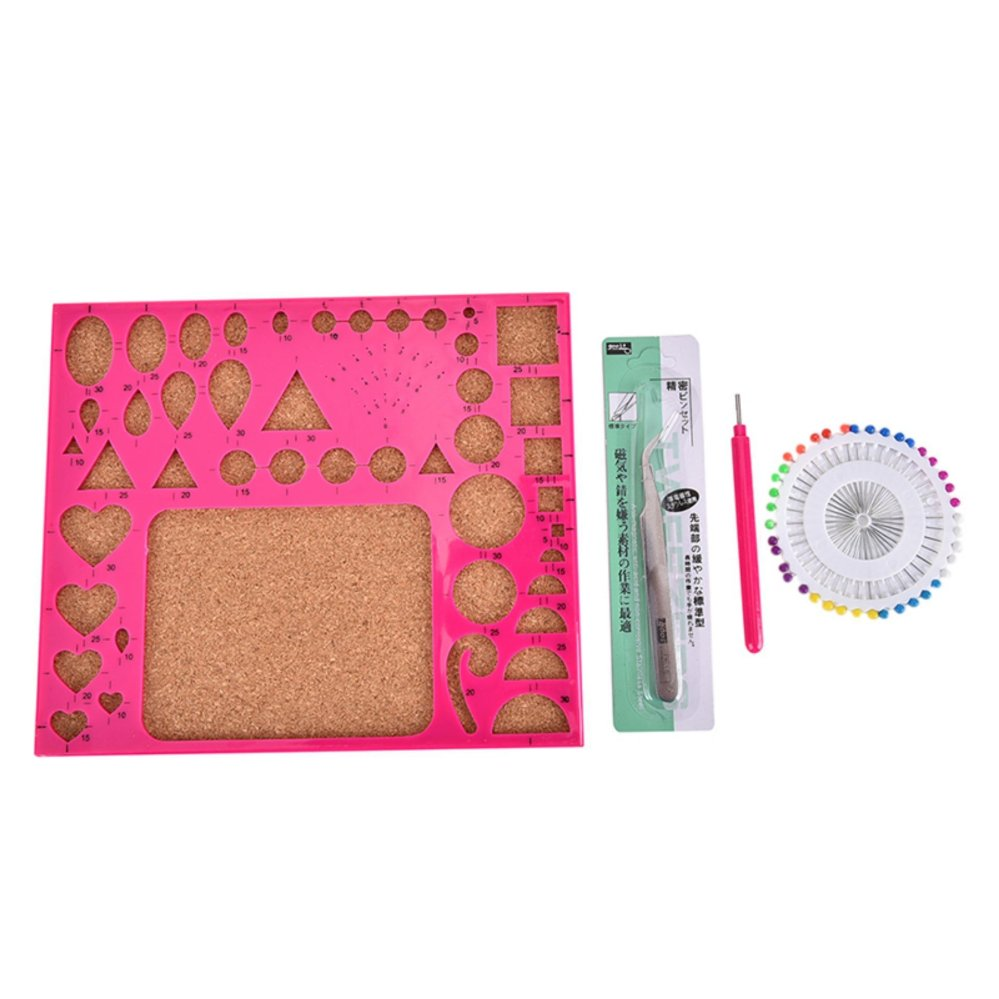 1 Set Paper Quilling Tool Kit DIY Hamdmade Art Work Accessory Papercraft Tool - intl 8