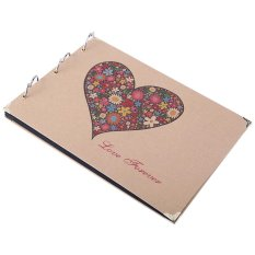 Bán 10 Diy Wedding Family Memory Record Scrapbook Photo Album Love Forever Intl Oem Rẻ