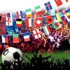 Hình ảnh 100 Quốc Gia Thế Giới Dây Cờ 25M82ft-quốc tế