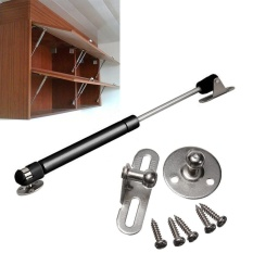 100N/10kg Hydraulic Gas Strut Lift Support Kitchen Door Cabinet Hinge Spring - intl
