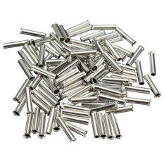 100 cái Đồng Uninsulated Bootlace Đầu Gia Cố Dây Tín Cấp Nhà Ga Lọn Uốn 1mm2-qu ốc tế