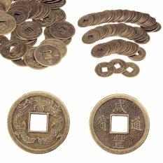 Mã Khuyến Mại Khi Mua 100 Cái Phong Thủy Trung Quốc Hoàng Đế Đông Phương Cổ Tiền Đồng Xu May Mắn FortuneWealth-quốc Tế