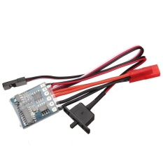 10A ESC Brushed Speed Controller For RC Car And Boat With Brake - intl
