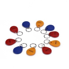 10Pcs 125KHz RFID ID Token Tag Key Fob Keyfob Keyring Security Access Control - intl