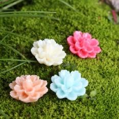 10 cái Thu Nhỏ Hoa Cây Cảnh Thủ Công Vườn Cổ Tích Phong Cảnh DIY Trang Trí 1.5 cm-quốc tế