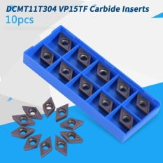 10Pcs/set CNC Carbide Tips Inserts Blade Cutter Lathe Turning Tool with Box - intl