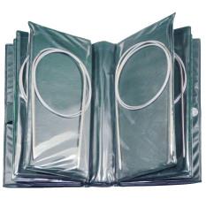 Mua 11 cái Người Lớn Chuyên Nghiệp 80 cm Inox Hình Tròn Móc Kim Đan Bộ Kim Chỉ Phụ Kiện Kích Thước Khác Nhau với Lưu Trữ Ốp Lưng -quốc tế