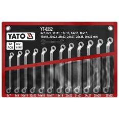 12 PCS Bộ cờ lê điếu 6-32mm YATO - Ba Lan YT-0252