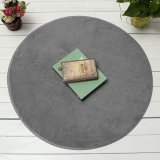 Giá Bán 120Cm Fluffy Rug Non Slip Round Shaggy Rug Living Room Bedroom Carpet Floor Mat Grey Intl Tốt Nhất