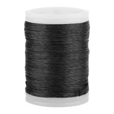 Hình ảnh 120m Durable Nylon String Serving Thread (black) - intl