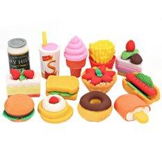 Mua 13 cái Bánh Hamburger Thức Ăn Cao Su Tẩy Bộ Văn Phòng Phẩm Sinh Viên Phần Thưởng-quốc tế
