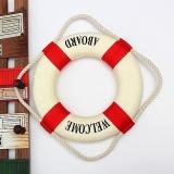 14-50 cm Xốp Trang Trí Nhà Hải Lý Trang Trí Tay Lifebuoy Vòng Tường Treo Tủ Trưng Bày-quốc tế
