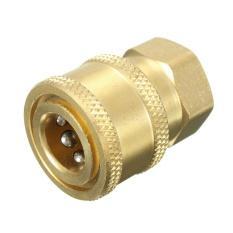 1/4 Quick Release Pressure Washer Hose Adaptor Connector Plug To BSP1/4 Female - intl
