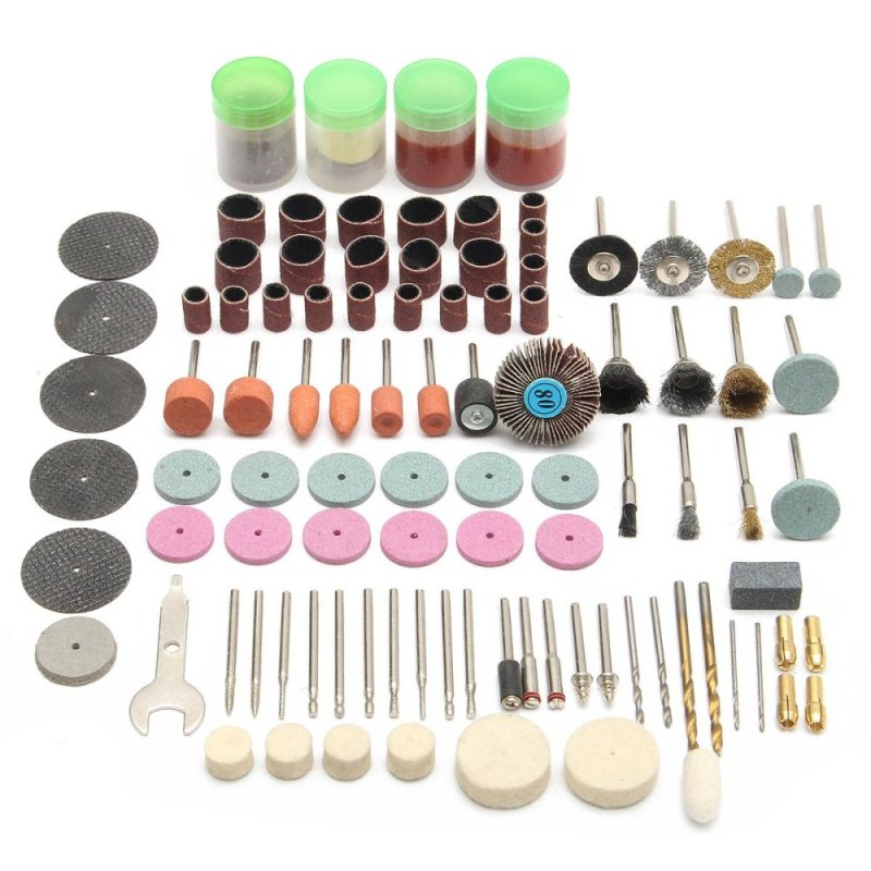 142pcs Electric Grinder Accessory Kit Mini Rotary Power Drill Multi Function Tool - intl