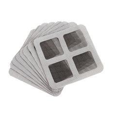 Hình ảnh 15 cái Cửa Sổ Cửa Lưới Lưới Màn Hình Keo Tự Sửa Chữa Cố Định Miếng Dán Miếng Dán cho Bao Che Lỗ Ngăn Ngừa Muỗi Côn Trùng -quốc tế
