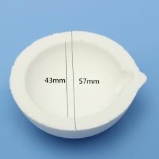 Mua 150 grams Cao Nhiệt Độ Thạch Anh Silica Nóng Chảy Crucible cho Vàng & Bạc-quốc tế