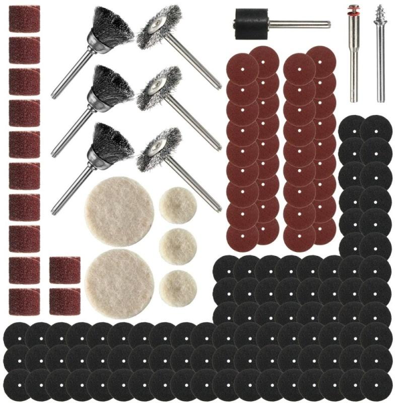 150 PCS Rotary Power Tool Set For 1/8 Shank Sanding Polish Accessory Bit - intl