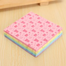Ôn Tập 150 Sheets Square Origami Paper Crane Folding Colorful Diy Craft 6 5 6 5Cm Bear