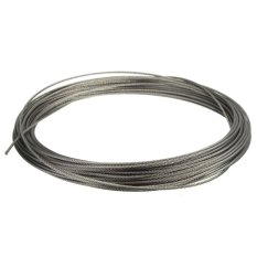 Hình ảnh 15M (50feet) 100% Marine Grade 316 Stainless Steel Cable Wire Rope 1/16