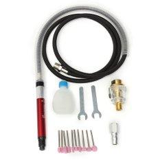 Hình ảnh 16PCS Air Micro Die Grinder Kit Mini Pencil Polishing Rotary Cutting Tool w/Case - intl