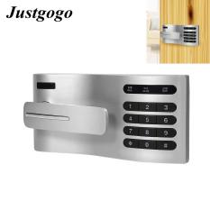 Justgogo Bàn phím không khóa Bàn Cửa Lock Entry với Flex-Lock Giữ phím Ngõ Keypad Mật khẩu Key Lock Truy cập Digital Digital Induction Cabinet Coded Locker