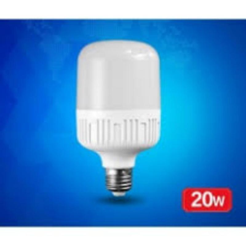 Bộ 2 bóng đèn led bulb trụ 20w (ánh sáng vàng)
