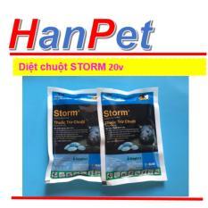 Hình ảnh 2 gói Thuốc Diệt Chuột Storm 20v CHỐNG ĐÔNG MÁU (THUỐC CHUỘT hanpet 413)