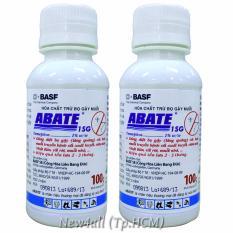 2 Hộp hóa chất trừ bọ gậy muỗi ABATE 100g-1SG ngừa Zika hiệu quả (Bộ 2 hộp)
