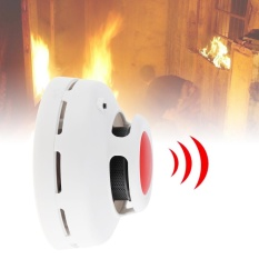 2 in1 Combination Carbon Monoxide and Smoke Alarm with Red LED Flashes and Low Battery Prompt for Air Detection - intl