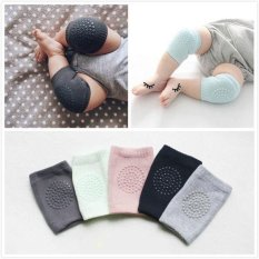 2* Kid Baby Knee Pads Protector Cotton Infants Safety Crawling Elbow Leg Cushion - Intl By S_way.