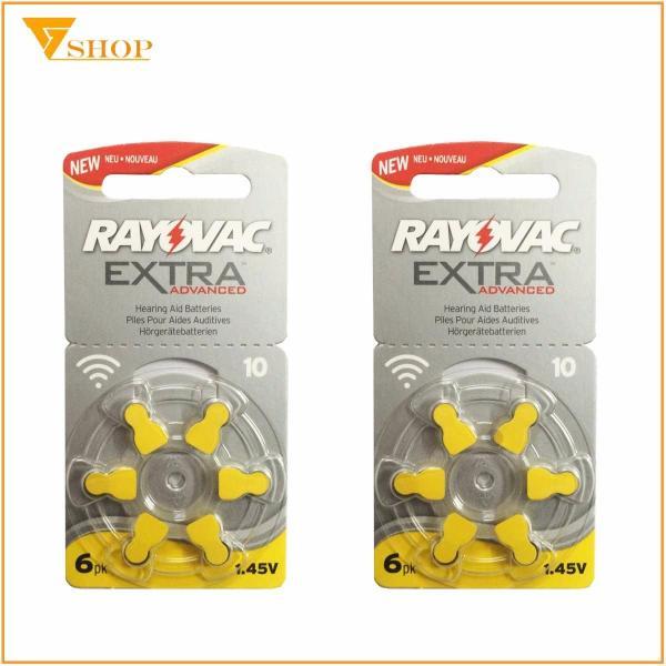 2 vỉ Pin máy trợ thính Rayovac PR70, Pin A10 ( vỉ 6 viên )