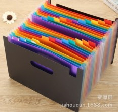 Mua 24 Pockets Expanding File Folder Document Organizer for A4 Paper with High Capacity Labels Color:Multicolor Specification:A4