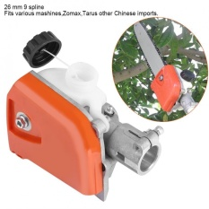 Hình ảnh 26mm Orange Spline Pole Saw Tree Cutter Chainsaw Gearbox Gear Head Tool 9 Spline - intl