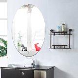 Gương Dán Phòng Tắm Chuồn Thấm Nước Acrylic Hình Bầu Dục 27*42 cm-quốc tế