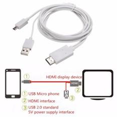 2 m MHL TO HDMI HD TV Cáp cho Samsung Galaxy Tab 3 10.1 Máy Tính Bảng 8.0 Inch- quốc tế