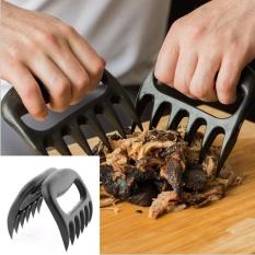 Hình ảnh 2PCs New Best Meat Handler Bear Claw BBQ Forks Shredding Pulling Grill Tools Kitchen Tool - intl