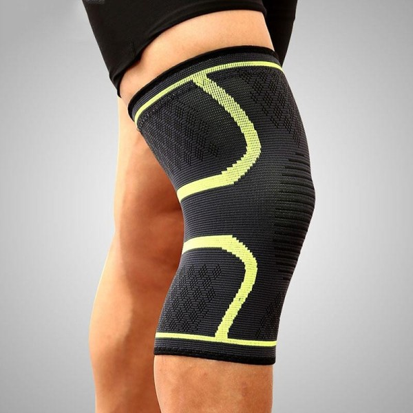 2PCS/Pair Fitness Running Cycling Knee Support Braces Elastic Nylon Sport Compression Knee Pad Sleeve for Basketball Volleyball Suitable for leg circumference: 42-47cm - intl