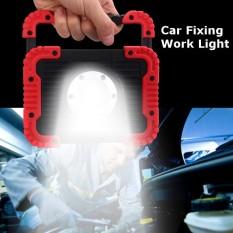 Hình ảnh 30 wát LED COB Di Động Pin Lũ Lụt Đèn Làm Việc Cắm Trại Ngoài Trời Đèn Đỏ-quốc tế