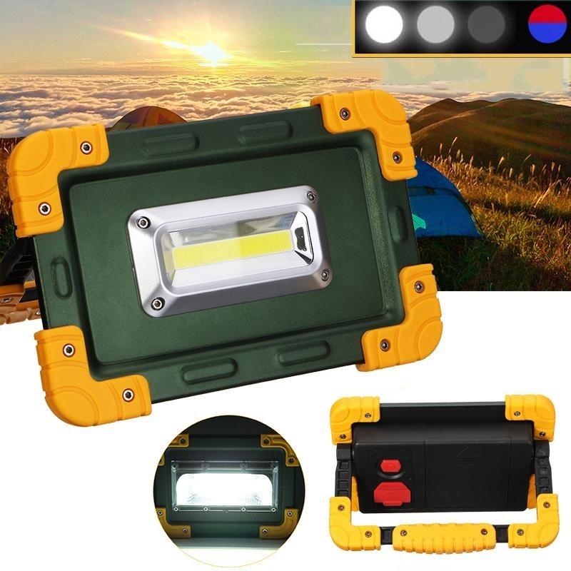 Bảng giá 30 wát LED USB Di Động Sạc Siêu Sáng chống nước Làm Việc Cắm Trại Câu Cá Ngoài Trời-quốc tế