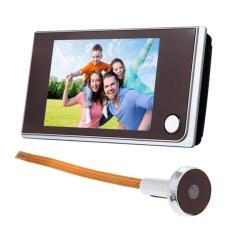 3.5 inch LCD 120 Độ Nhìn Trộm Màu Người Xem Cửa Mắt Chuông Cửa Màu HỒNG NGOẠI Camera-quốc tế