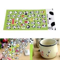 Mua 3D DIY Cute Panda Diary Album Scrapbooking Memo Pad Bubble Sticker Decoration - intl