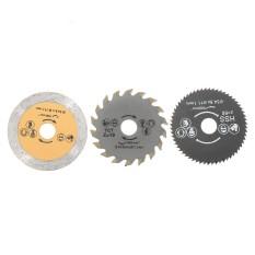 3X HSS 54.8 mét Mini Gỗ Cưa Lưỡi Dao Lưỡi Dao Cắt Dụng Cụ Xoay + Mandrel-intl