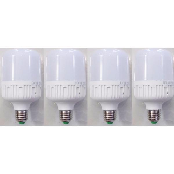 Bộ 4 bóng đèn led bulb 30w ánh sáng trắng