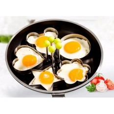 Hình ảnh 4 khuôn chiên bánh, rán trứng tạo hình độc đáo