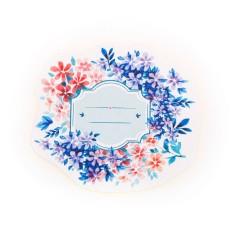 Hình ảnh 45 cái/hộp Giấy Hoa Viết Được Quà Tặng Giáng Sinh Đóng Gói Nhãn Dán Miếng Dán Trang Trí-quốc tế